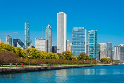 Stati Uniti d'America - Chicago e il lago Michigan