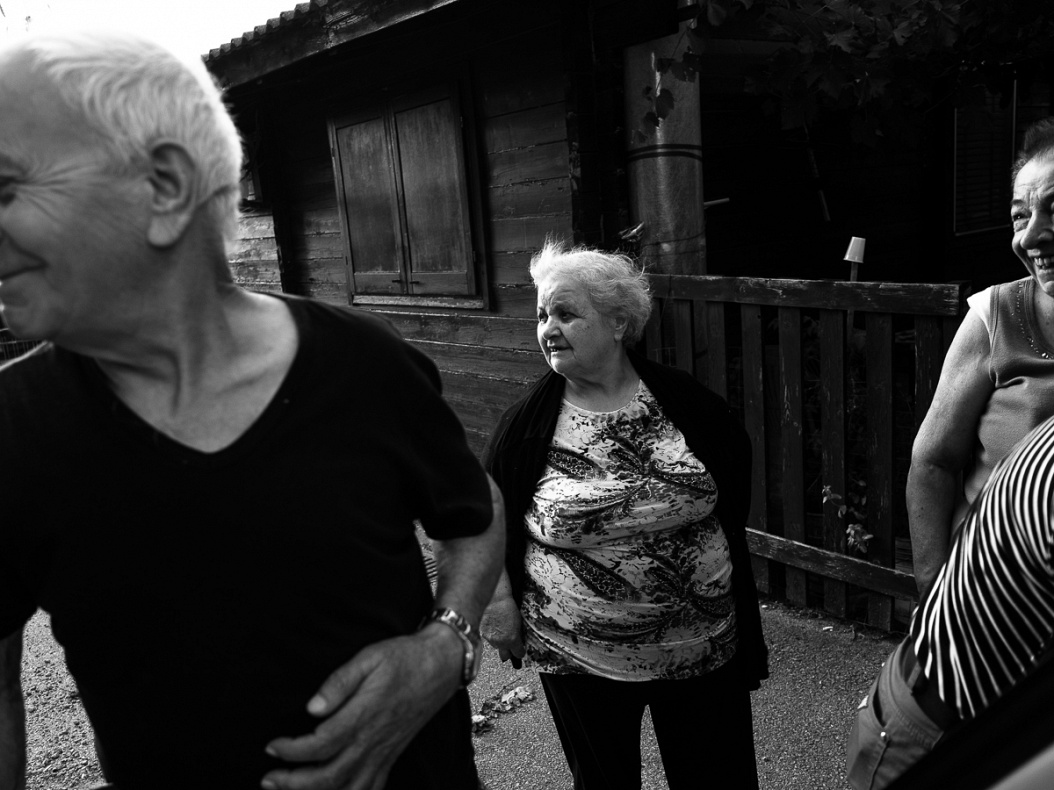 Some families live there since 40 years, almost. Hopeless that something can change but especially that they might see something different.