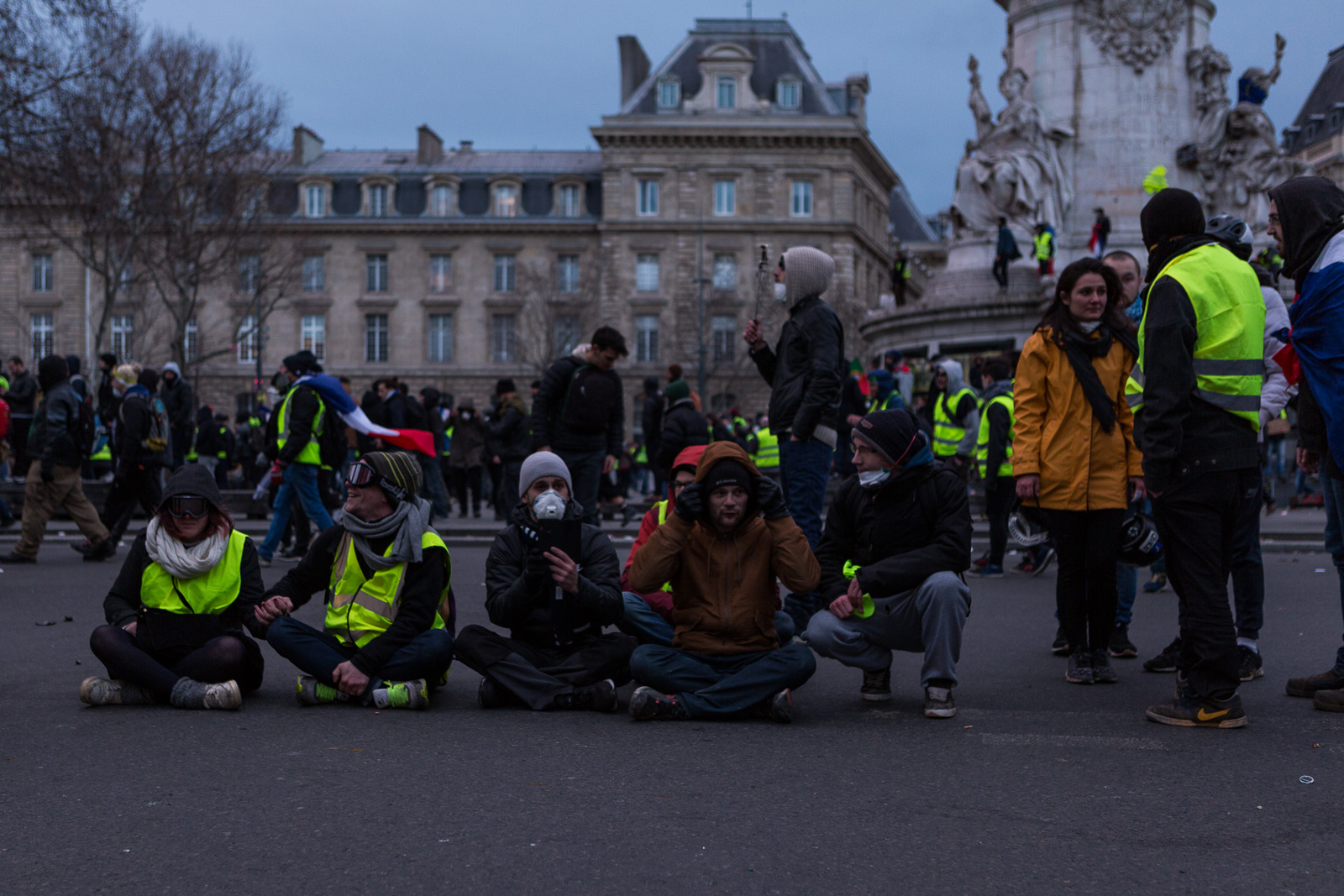 Paris - Gilet Jaunes