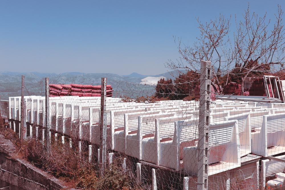 Seismic Regulated Landscapes
